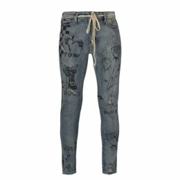 Profound Aesthetic Printed Skinny Jeans