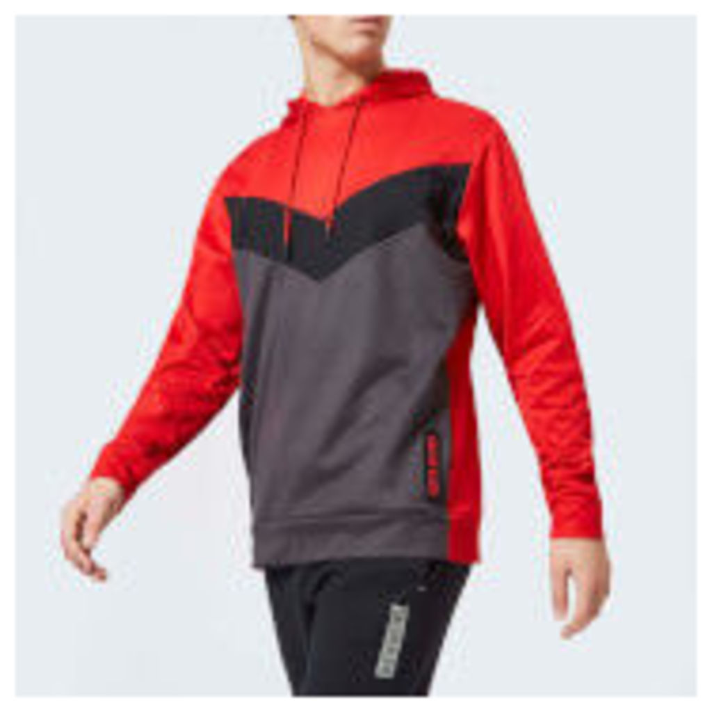 Calvin Klein Performance Men's Hoody - Racing Red - XL - Red
