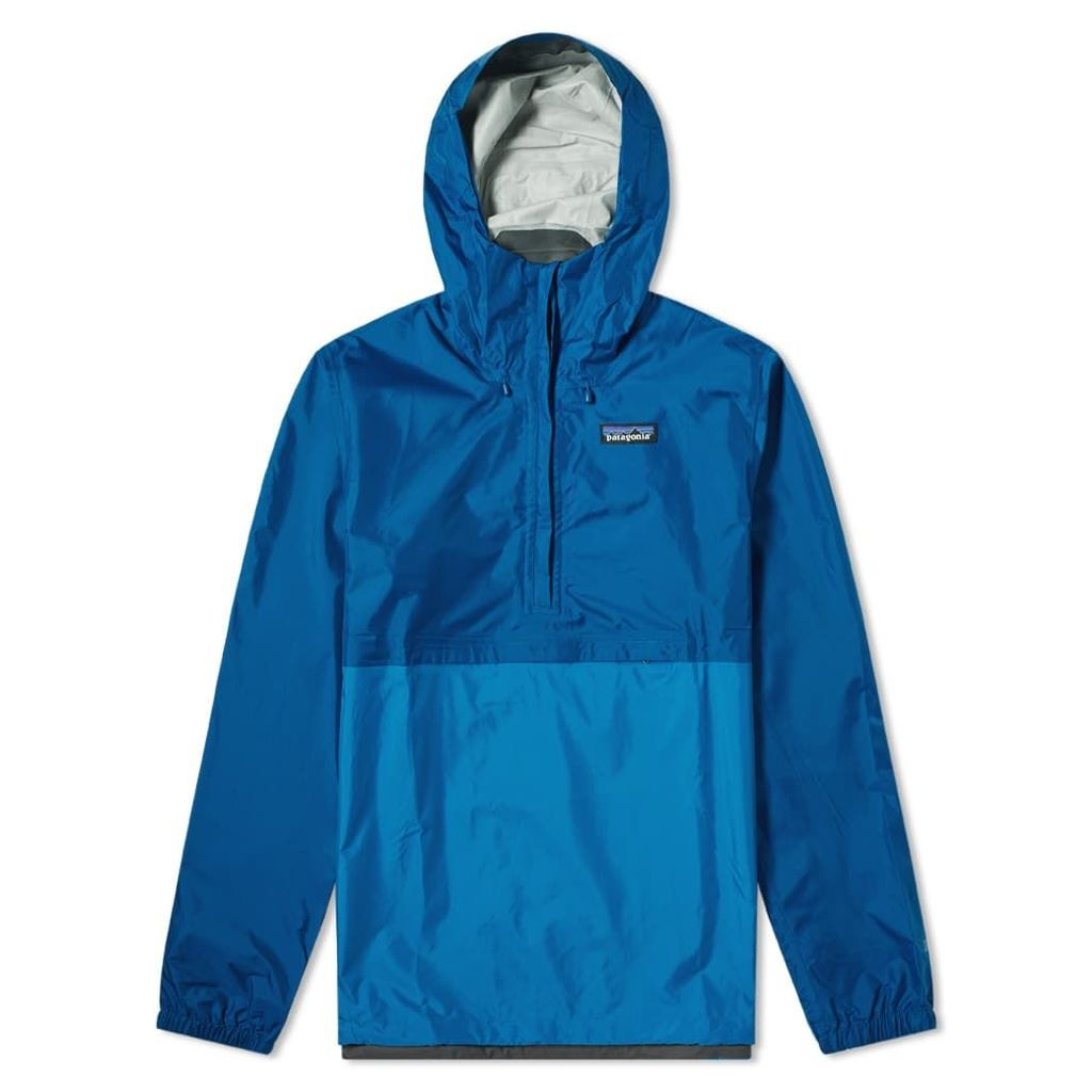 Patagonia Torrentshell Pullover Jacket Big Sur Blue