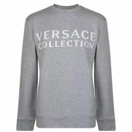 Versace Collection Logo Crew Sweatshirt