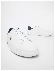 Lacoste Graduate LCR3 118 1 trainers in white leather