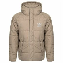 Adidas Originals Superstar Padded Jacket Beige