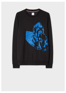 Men's Black 'Precious Stones' Embroidered Sweatshirt