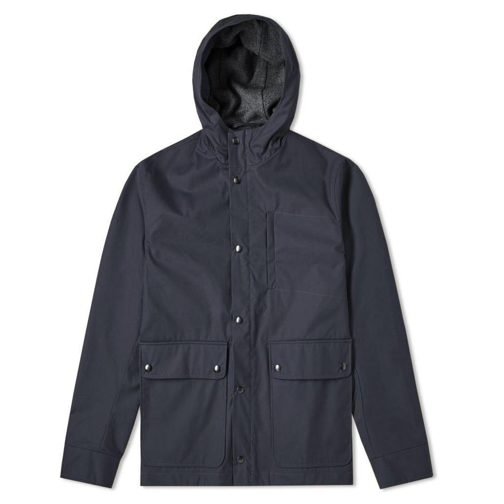 Oliver Spencer Helvellyn Jacket Fine Wax Navy