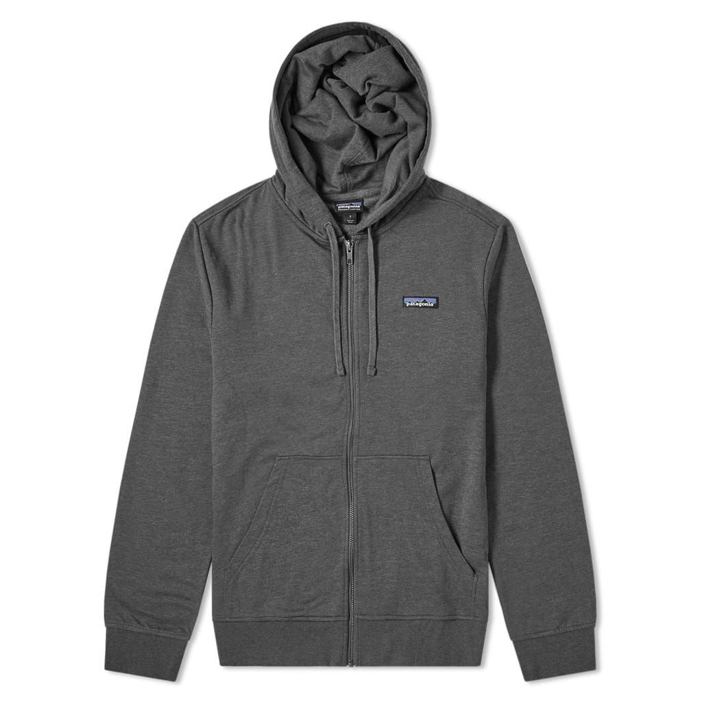 Patagonia P-6 Label Lightweight Zip Hoody Forge Grey