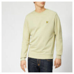 Lyle & Scott Men's Crew Neck Sweatshirt - Green Stone