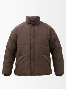 Givenchy - Two Tone Windbreaker Jacket - Mens - Dark Purple