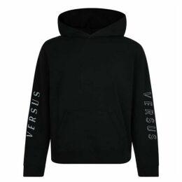 Versus Versace Sleeve Logo Hooded Sweatshirt