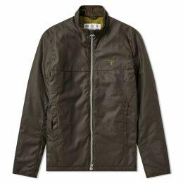 Barbour District Wax Jacket Olive