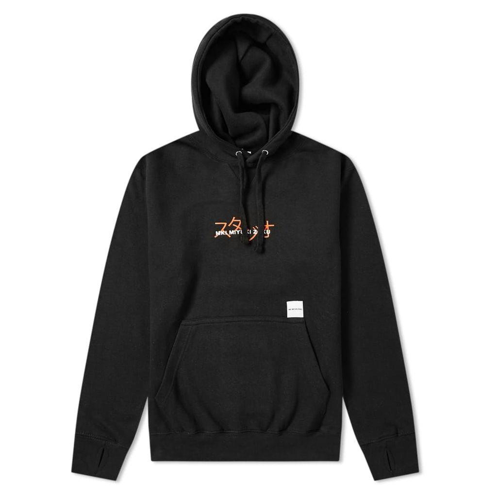 MKI Overlay Hoody Black