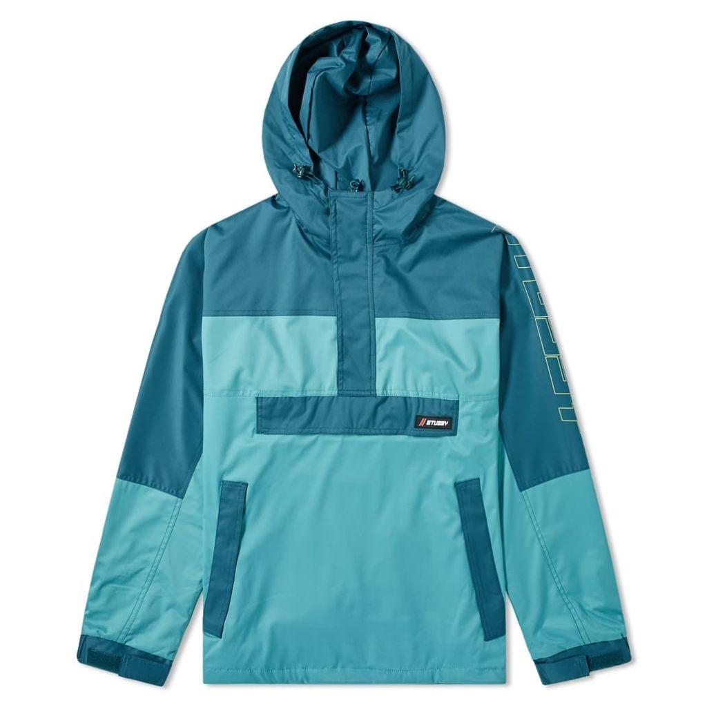 Stussy Alpine Pullover Jacket Mint