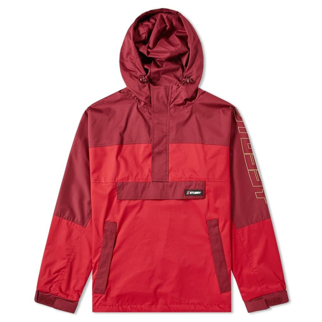 Stussy Alpine Pullover Jacket Red