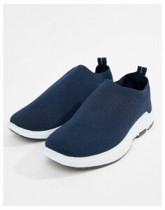 Loyalty & Faith Polo Sock Trainer in Navy