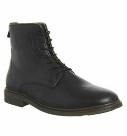 Shoe the Bear Ned Lace Up Boot BLACK LEATHER