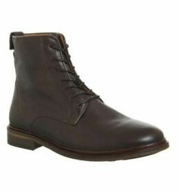 Shoe the Bear Ned Lace Up Boot BROWN LEATHER