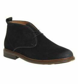 Shoe the Bear Dalton Chukka Boot BLACK SUEDE