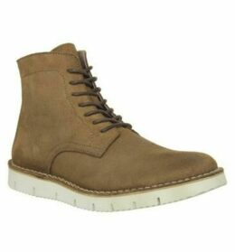Ask the Missus Inflict Lace Boot TAN SUEDE
