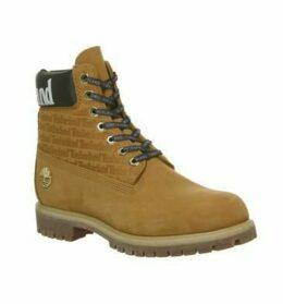 Timberland Logo 6 Inch Boot WHEAT