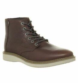 Toms Porter Boot DARK BROWN