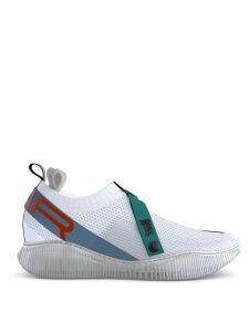 SWEAR Crosby knit sneakers - Whit/Blue/Orange