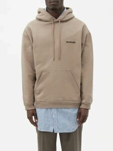 Valentino - Distressed Camouflage Knit Hooded Sweater - Mens - Green Multi