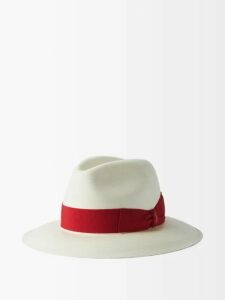 Valentino - Cashmere Crew Neck Sweater - Mens - Grey
