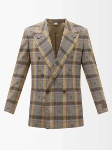 Etro - Mosaic Print Trousers - Mens - Green Multi