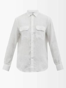 Etro - Mosaic Print Trousers - Mens - Green Multi