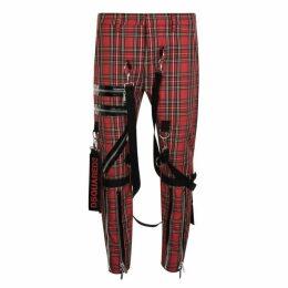 DSquared2 Tarton Bondage Trousers