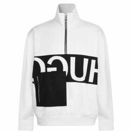 Hugo Darrius Half Zip Sweatshirt
