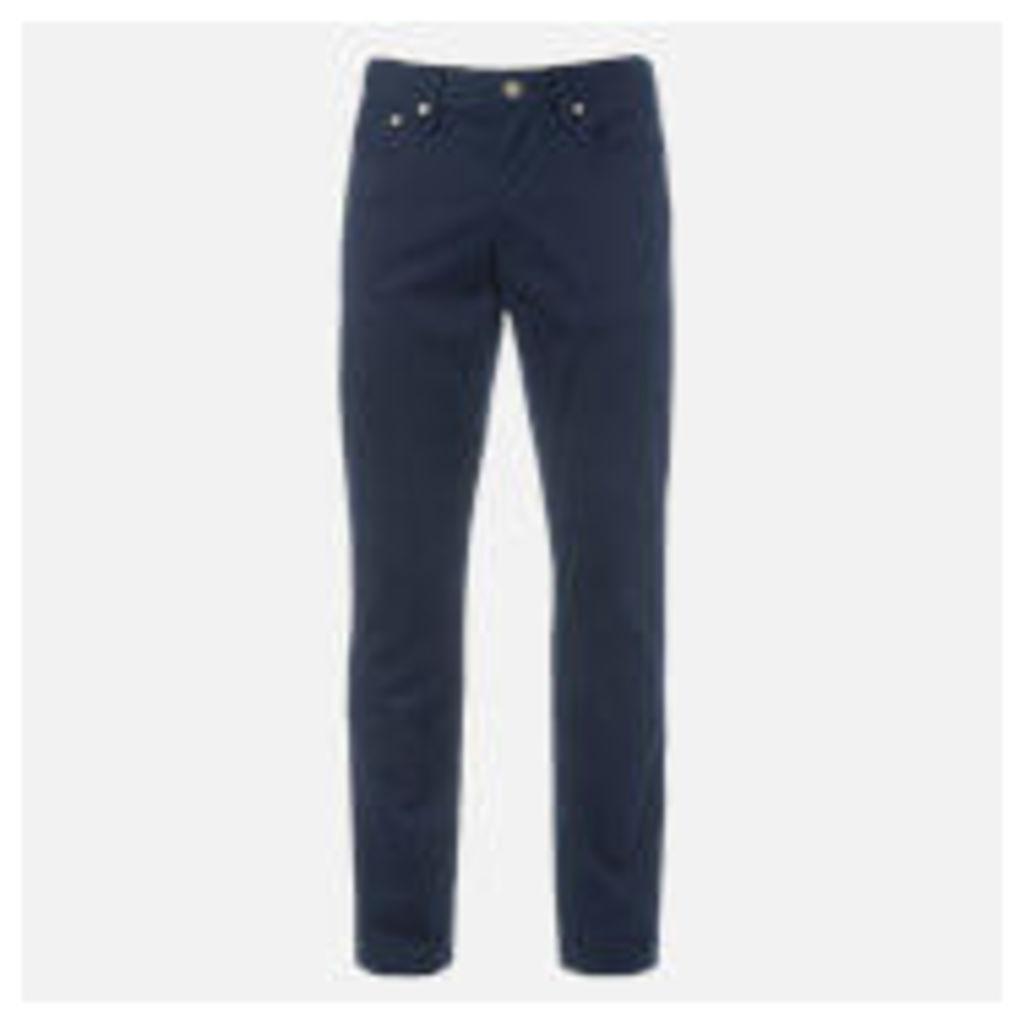 Polo Ralph Lauren Men's Straight Fit Prospect 5 Pocket Pants - Blue - W38/L32 - Blue