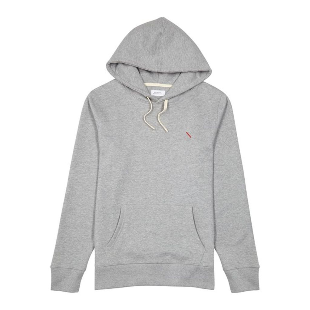 Saturdays NYC Ditch Hooded Cotton Sweatshirt