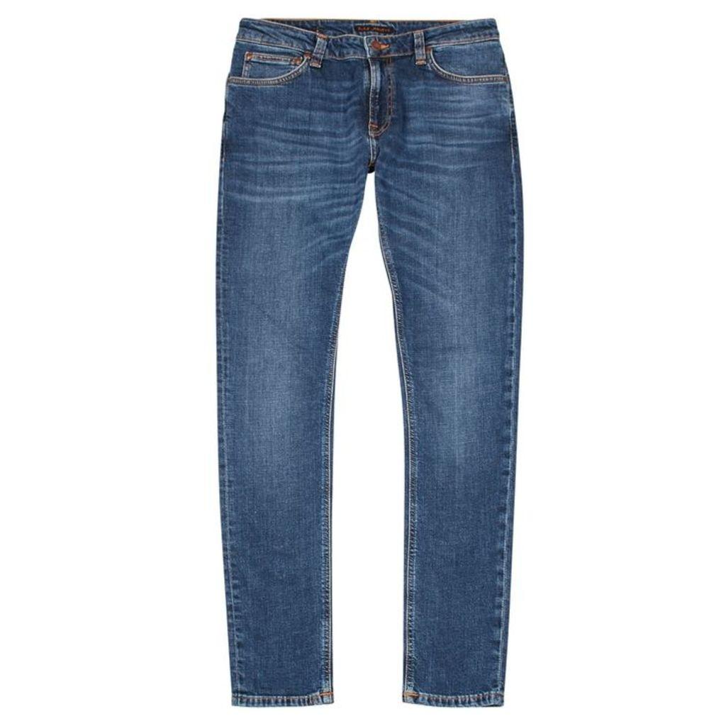 Nudie Jeans Skinny Lin Blue Skinny Jeans
