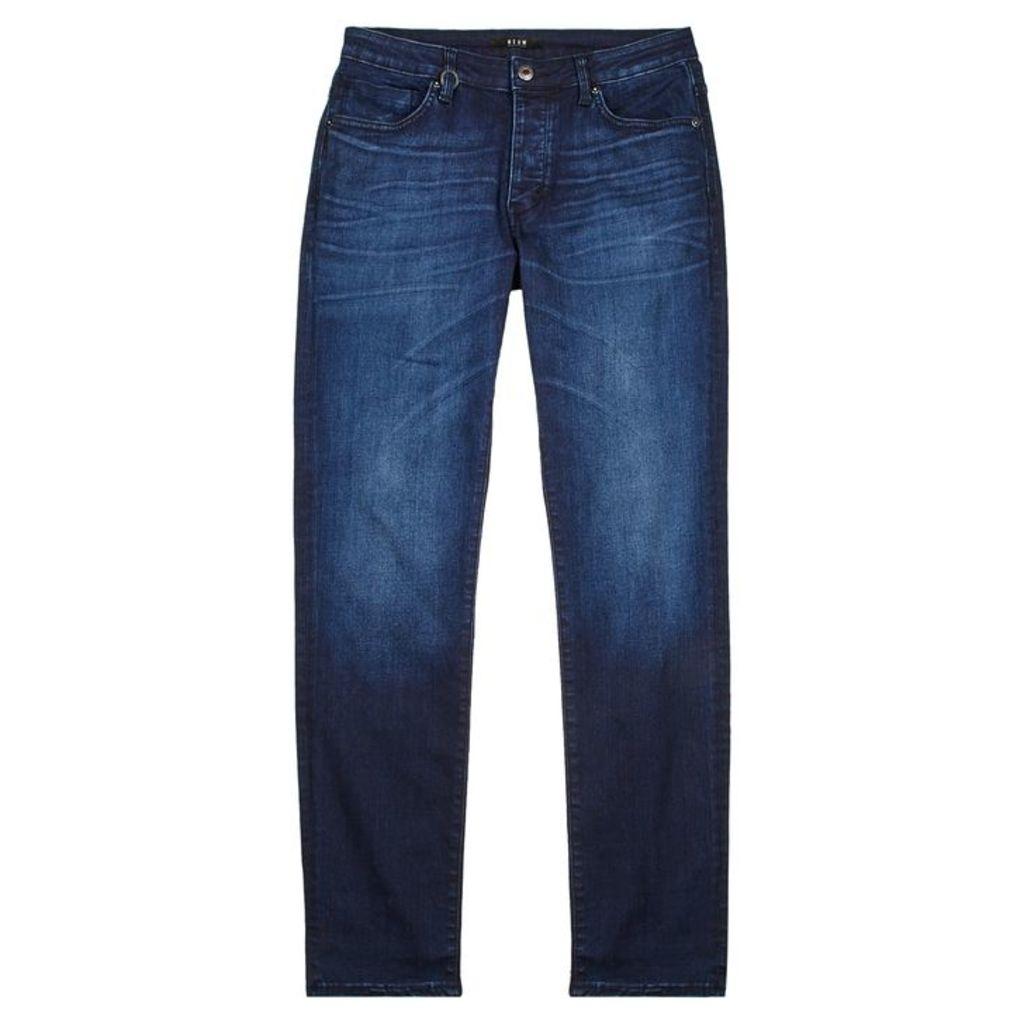 Neuw Lou Form Indigo Slim-leg Jeans