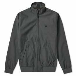 Fred Perry Marl Brentham Jacket Charcoal