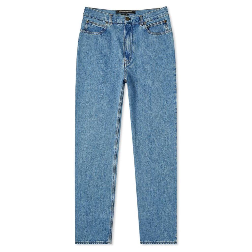 Calvin Klein 205W39NYC Classic Jean Blue