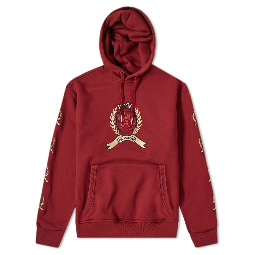 Tommy Jeans 6.0 Crest Hoody M29 Cabernet