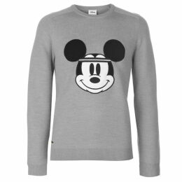 Lacoste Mickey Crew Neck Sweater Mens