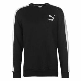 Puma T7 Logo Crew Fleece Sweater