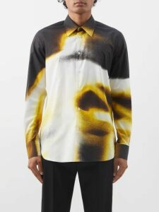Burberry - Barkeston Brogue Leather Boots - Mens - Brown