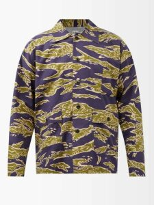 Burberry - Regis Canvas High Top Trainers - Mens - Tan Multi