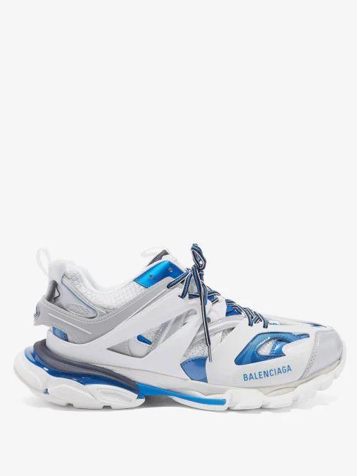 Fendi - Logo Taped Cotton Track Pants - Mens - White