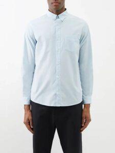 Alexander Mcqueen - Zipped Cotton Track Pants - Mens - Black