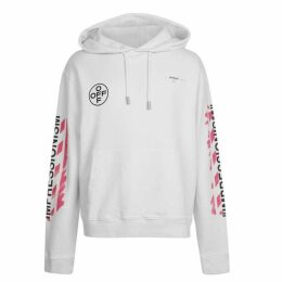Off White Stencil Hooded Sweatshirt
