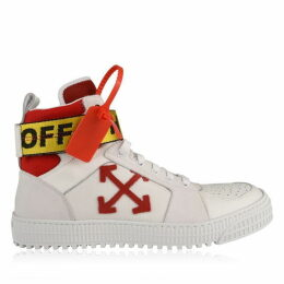 Off White Industrial High Top Trainers
