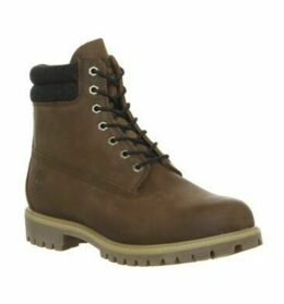Timberland 6 Inch Double Collar RAWHIDE SADDLEBACK