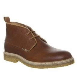 Poste For Offspring Desert Boot COGNAC LEATHER,Brown