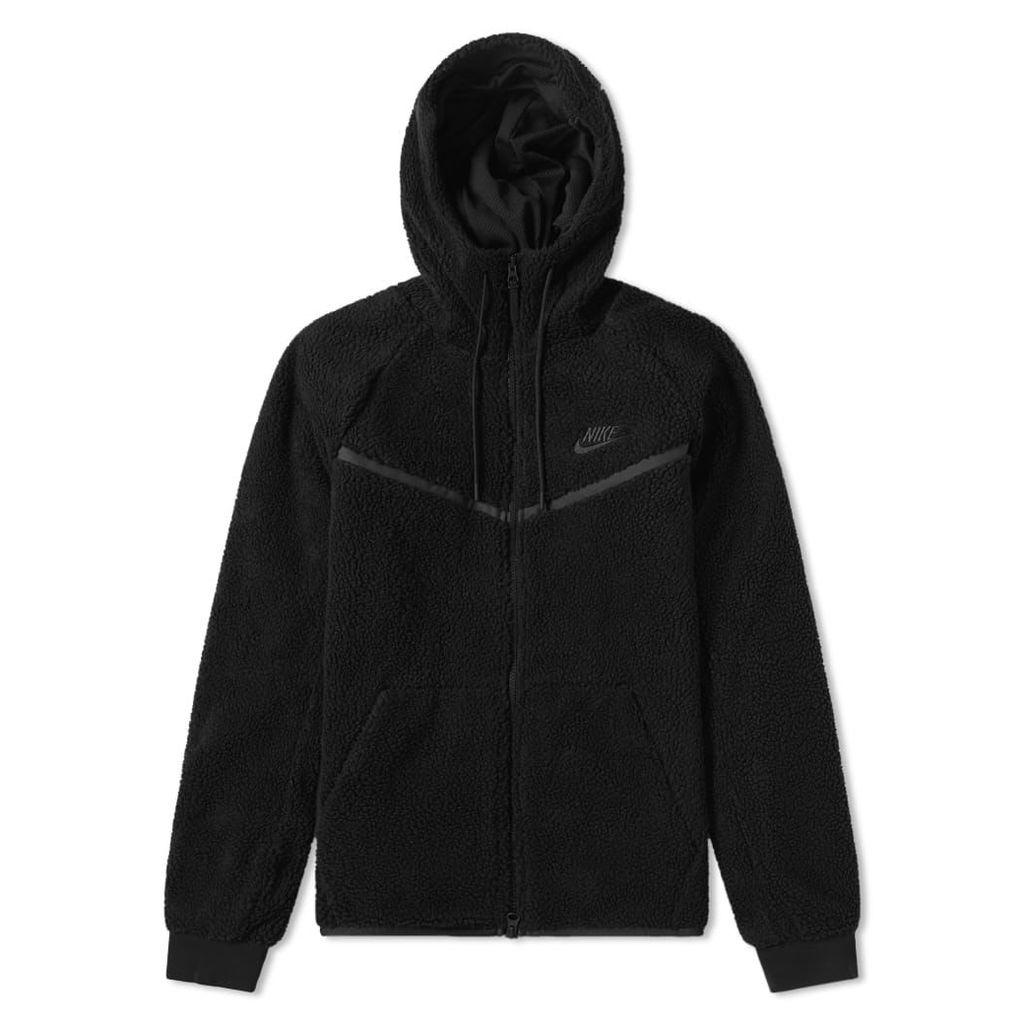 Nike Tech Sherpa Wind Runner Black