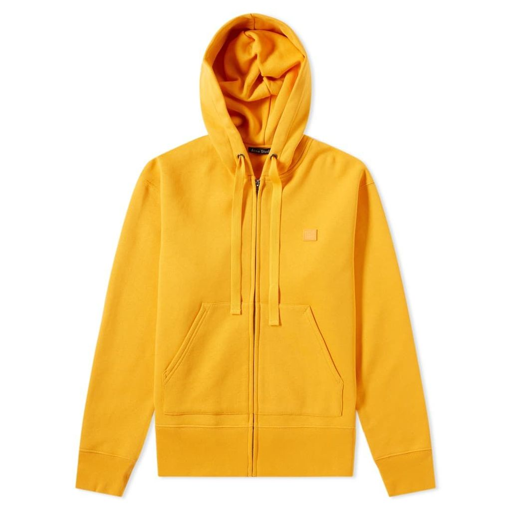 Acne Studios Ferris Face Zip Hoody Sharp Orange