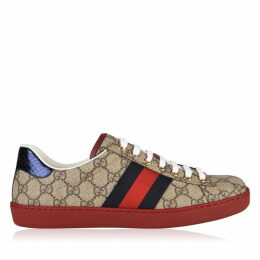 Gucci Ace Gg Print Trainers